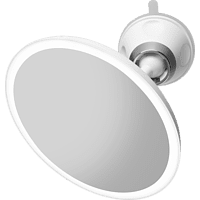 MEDISANA CM 850 LED Saug - Spiegel, Weiß/Silber