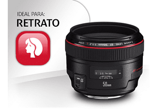 Objetivo - Canon EF 50mm, F1.2L USM