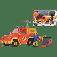 SIMBA TOYS Sam Feuerwehrauto Venus mit Figur Spielzeugauto, Mehrfarbig