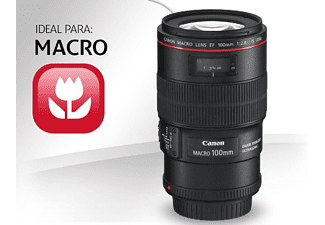Objetivo - Canon EF 100 mm, f/2.8L IS USM, Macro
