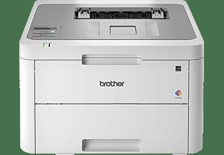 Impresora láser - Brother HL-L3210CW, Color, 2400 x 600 ppp, WiFi, 18ppm, Gris