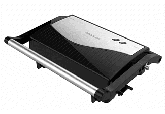 Grill - Cecotec Rock'nGrill 750 Full Open, Potencia 750 W, Superfície antiadherente