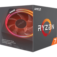 AMD Ryzen 7 2700X  Prozessor mit Kühllösung Wraith Prism with RGB LED