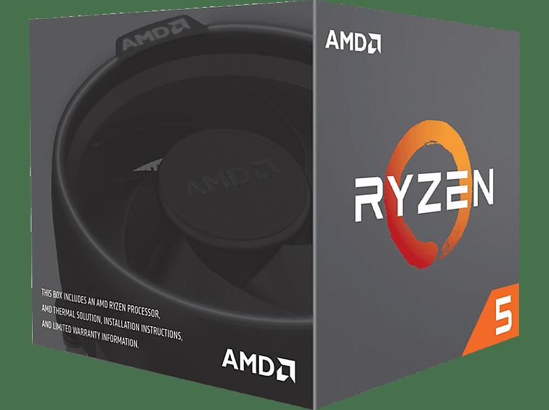 AMD Ryzen 5 2600 Prozesssor mit Kühllösung Wraith Stealth