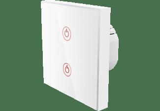 HAMA WiFi-Touch-Wandschalter, Unterputz, Weiß