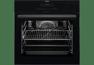 Horno - AEG BS8836480B, BlackLine Collection, Función Vapor, Sonda térmica, A+