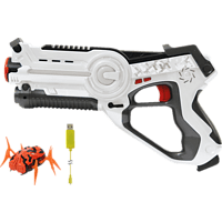JAMARA Impulse Laser Gun – Bug Hunt Set Laser Gun, Weiß