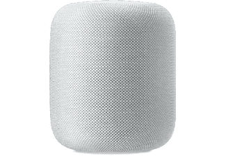 Altavoz inteligente - Apple HomePod, Chip A8, Siri, Altavoz 360º, Bluetooth, Wi-Fi, Blanco, domótica
