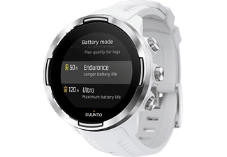 SUUNTO 9 Baro, Smartwatch, 24 mm, Weiß