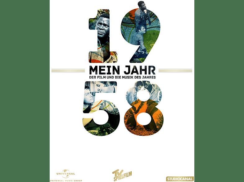 Mein Jahr 1958 / Flucht in Ketten + Die Musik des Jahres [DVD + CD]