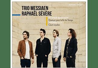 Trio Messiaen, Raphael Severe - MESSIAEN - QUATUOR POUR LA FIN DU T  - (CD)