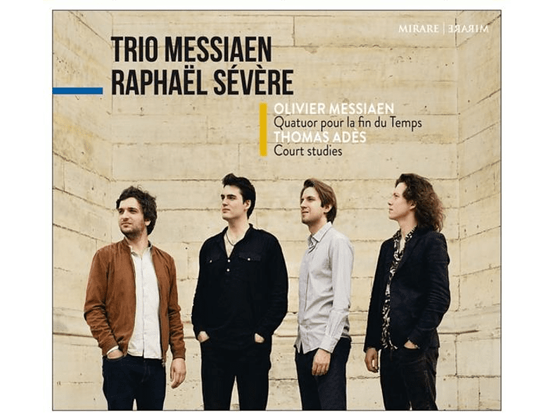 Trio Messiaen, Raphael Severe - MESSIAEN - QUATUOR POUR LA FIN DU T [CD]