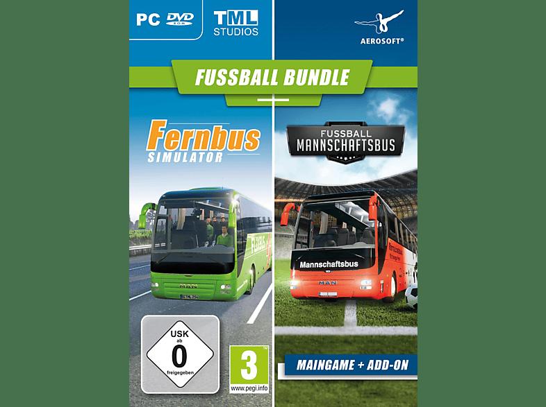 Fernbus Simulator + Add-on Fußball Mannschaftsbus [PC]