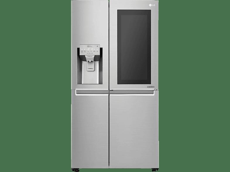LG GSX971NEAZ  Side-by-Side (376 kWh/Jahr, A++, 1790 mm hoch, Edelstahl)