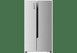 Frigorífico americano - Hisense RS670N4HC2, 516 L, No frost, Sistema Multi Air Flow, 178 cm, Inox