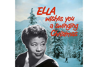 Ella Fitzgerald - Ella Wishes You A Swinging Christmas  - (Vinyl)