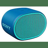 Altavoz inalámbrico - Sony SRS-XB01-L, Bluetooth, EXTRA BASS, IPX5, Micrófono, Aux, Azul