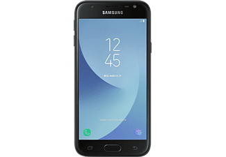 Móvil - Samsung Galaxy J3 (2017), 5'', HD, 16 GB, 2 GB RAM, Dual SIM, Negro