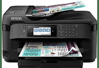 Impresora multifunción - Epson WorkForce WF-7710DWF, Tinta inyección, WiFi, 18ppm