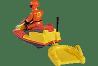 SIMBA TOYS Sam Juno, Jet Ski mit Figur Spielzeugfigur, Mehrfarbig