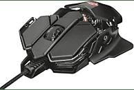 Ratón gaming - Trust GXT 138 X-Ray, 4000 DPI, USB, Óptico, Mano derecha, Negro