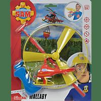SIMBA TOYS Sam Wallaby Flugspiel Flugspiel, Mehrfarbig