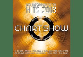 VARIOUS - Die Ultimative Chartshow-Hits 2018  - (CD)