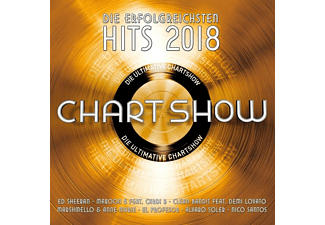VARIOUS - Die Ultimative Chartshow-Hits 2018 - (CD)