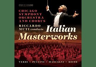 Chicago Symphony Orchestra - RICCARDO MUTI CONDUCTS ITALIAN MAST  - (CD)