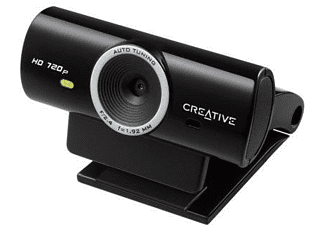 Webcam - Creative Live Cam Sync HD, micrófono integrado