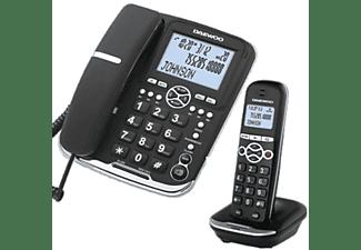 Teléfono - Daewoo DTD5500 Combo, manos libres, negro