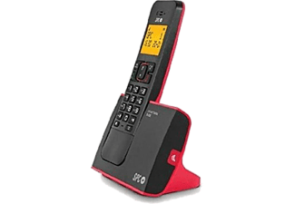Teléfono - SPC Blade 7290, inalámbrico, rojo