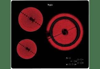Encimera - Whirlpool AKT 807/BF hobs, Vitrocerámica, 3 Zonas