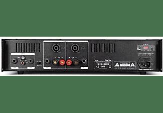 Amplificador estéreo - Fonestar SA-606, 2 canales, 400W, Negro