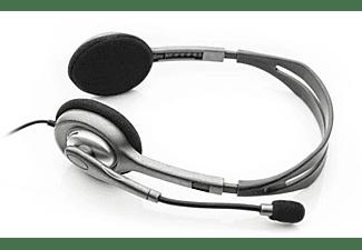 Auriculares de oficina - Logitech H111 Binaurale Diadema Gris