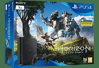 Pack Horizon Zero Dawn + Consola PS4 SLIM Negra - Sony - 1TB