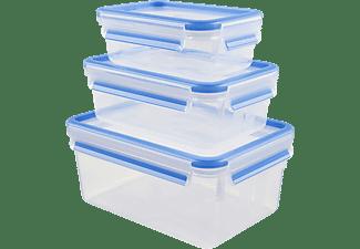 Tupper - Tefal K3028912, Set de 3 tuppers, Plástico