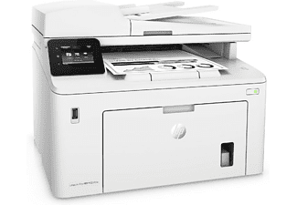 Impresora multifunción - HP LaserJet Pro M227fdw, 28 ppm, 1.200 ppp, WiFi, USB,  Monocromo, Blanco