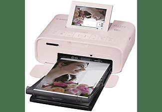 Impresora fotográfica - Canon Selphy CP1300, Tamaño postal, Wi-Fi, USB, SD, Rosa
