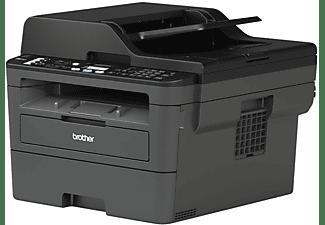 Impresora multifunción láser - Brother MFC-L2710DW, escáner, copia, fax, WiFi, doble cara, 30 ppm