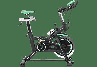 Bicicleta estática - Cecotec Extreme 25, 25 Kg, Pulsómetro, Pantalla LCD, Estabilizador, SilenceFit