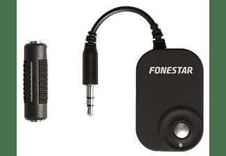 Receptor Bluetooth - Fonestar BRX-3033, jack 3.5 mm, Micro USB, Negro