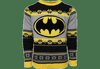 Jersey - Batman, Talla X, Navidad, Amarillo, negro y gris