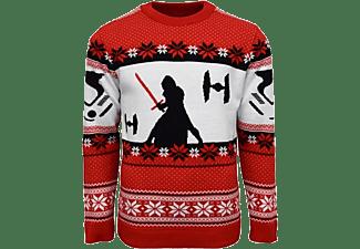 Jersey - Koch Media Kylo Ren, Star Wars, Talla L, Navidad, Rojo