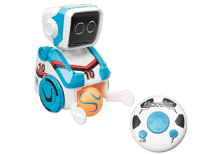 Robot - World Brands Kickabot, Chuta pelotas, Azul
