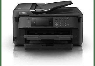 Impresora multifunción - Epson WorkForce WF-7715DWF, 4800x2400DPI, Inyección de tinta, A3, 18ppm,