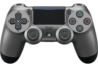 Mando inalámbrico - Sony PS4 DualShock V2, Steel Black