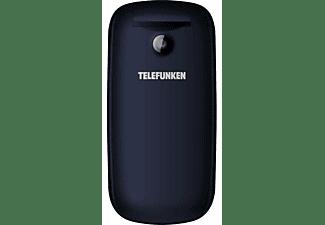 "Móvil - Telefunken TM18.1 Classy, 1.8"" LCD, Bluetooth, Cámara trasera, Dual SIM, Azul oscuro"