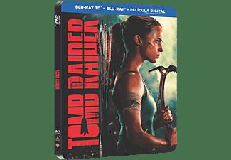 Blu-ray - Tomb Raider (Caja Metálica - 3D)