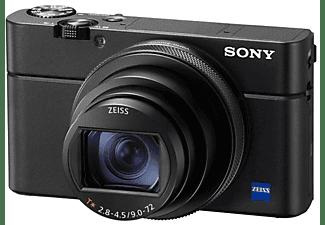 Cámara - Sony DSC-RX100 V, Sensor CMOS Exmor RS, Lente ZEISS, Apertura f/1.8, 20.1 MP, 4K, Wi-Fi